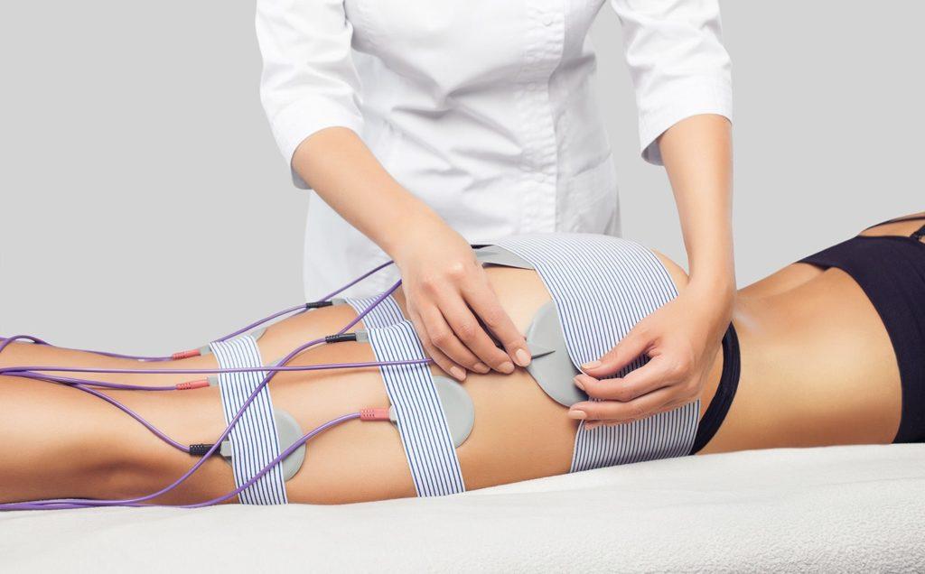 Elektroterapia w kosmetologii - zabieg redukcji cellulitu