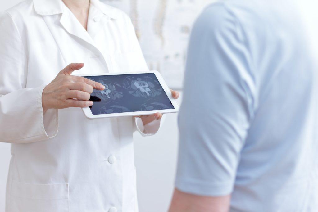 Osteofity - obraz kręgów kręgosłupa