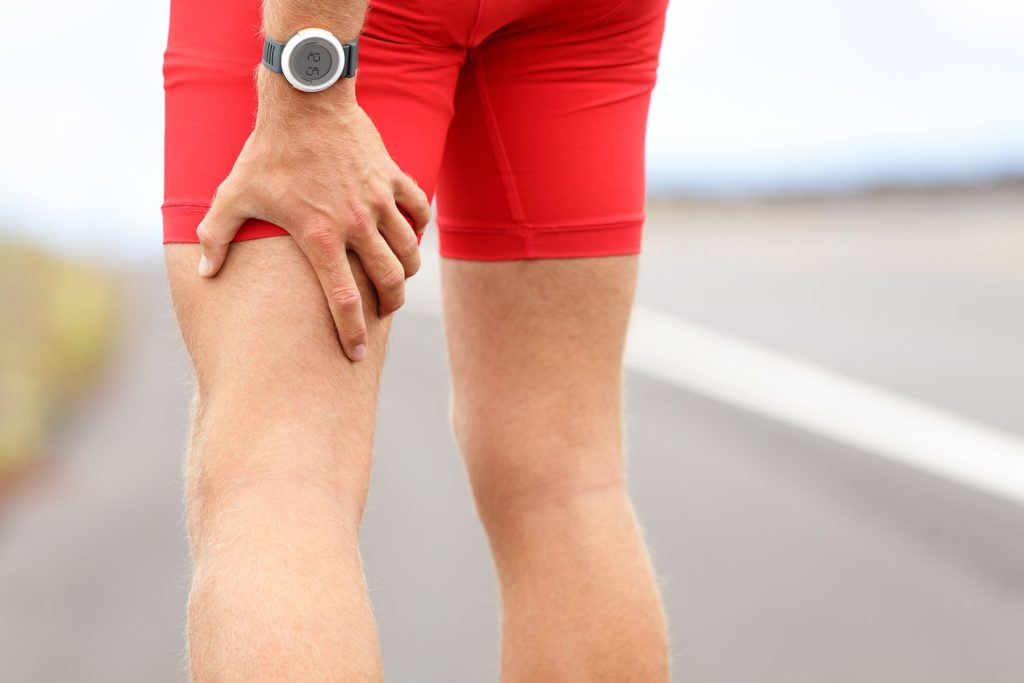 Uraz mięśnia dwugłowego uda