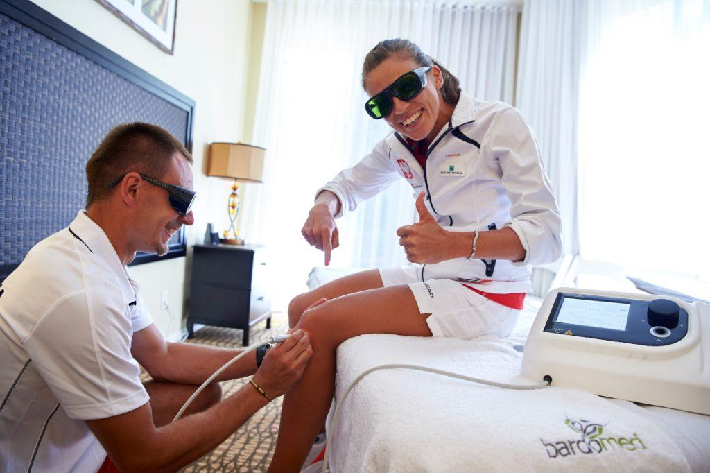 Laser wysokoenergetyczny iLUX - terapia sportowców