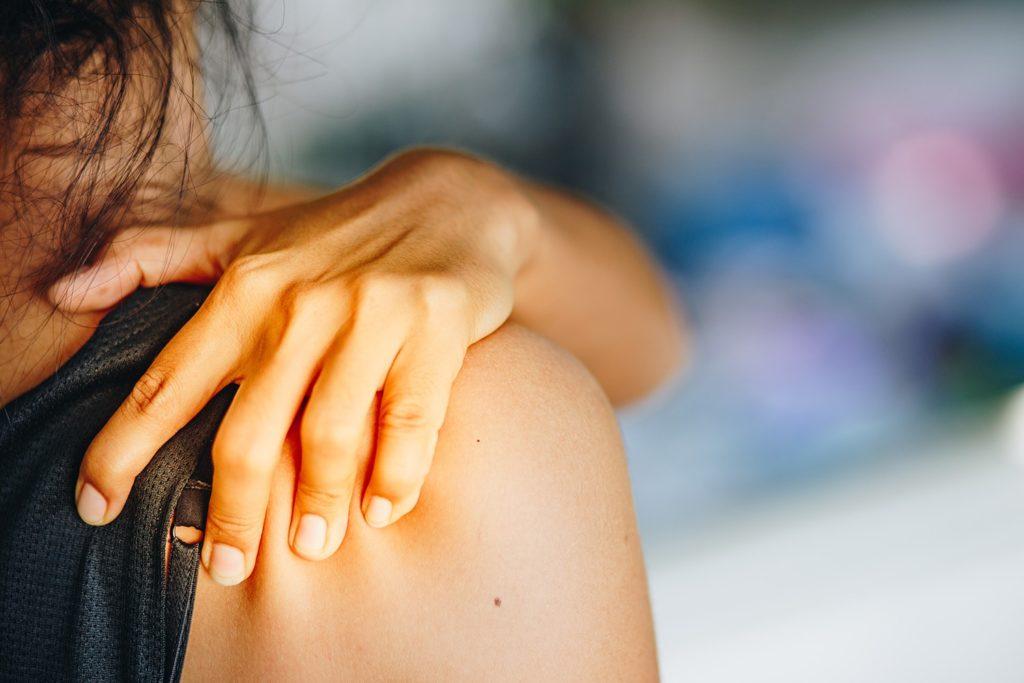 Ból barku - tendinopatia ścięgna mięśnia nadgrzebieniowego